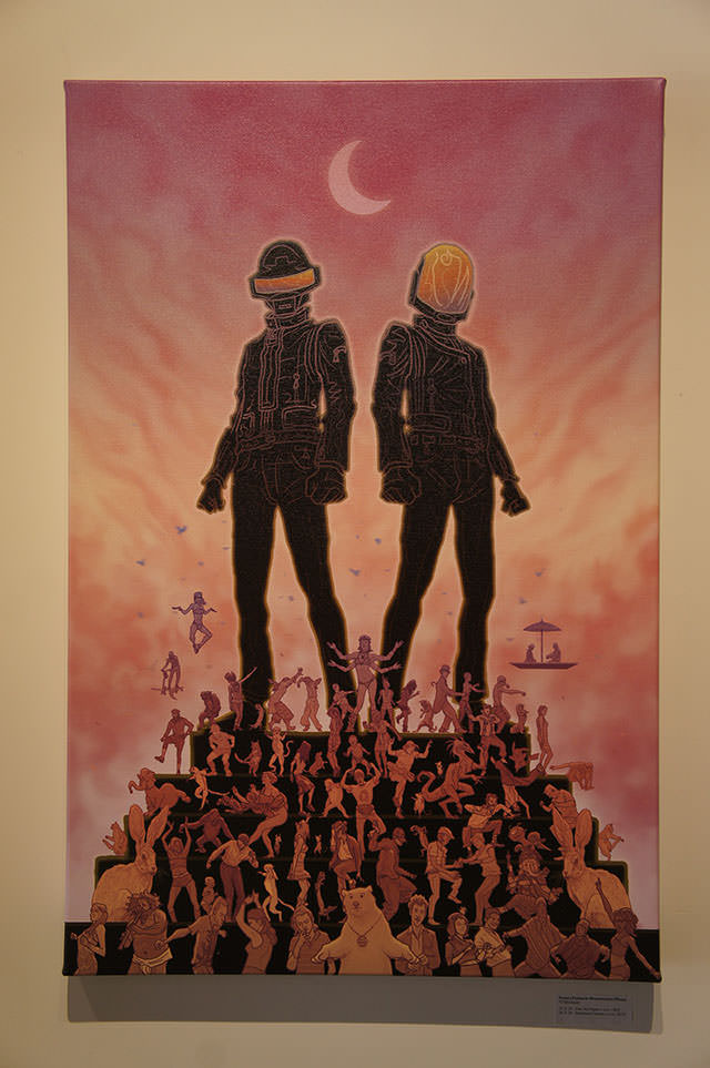 Daft Punk ReDiscovery: at Gauntlet Gallery