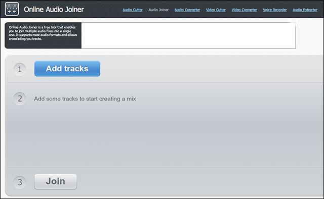 Online Audio Joiner