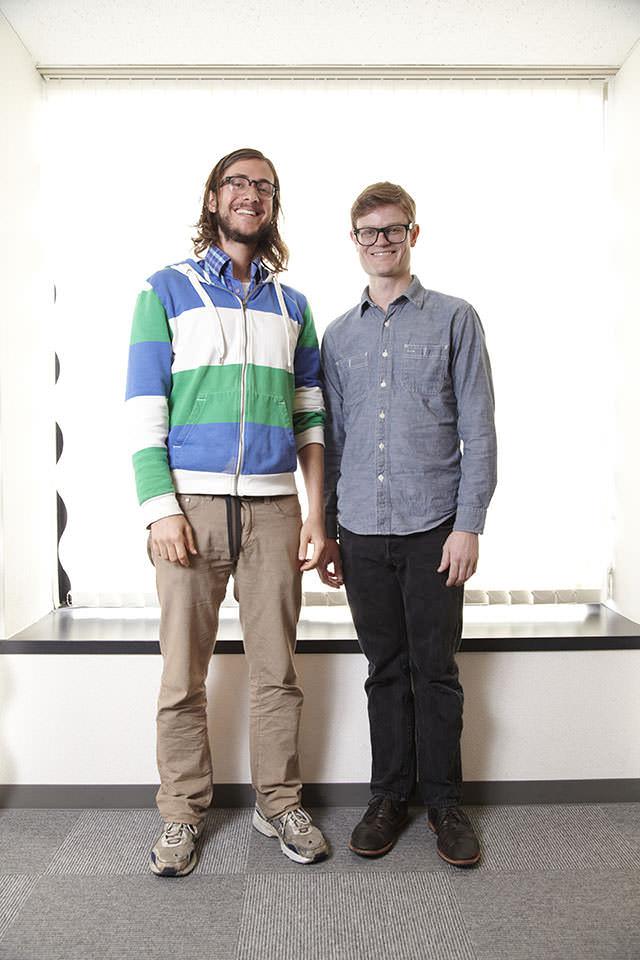 Kit Clayton and Sam Tarakajian