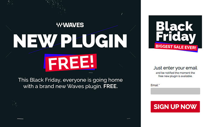Waves - Black Friday Free Plugin