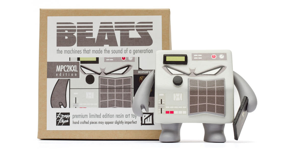 Patrick Wong - Beats Series Part 4 MPC2000XL Inspired Resin Art Toy
