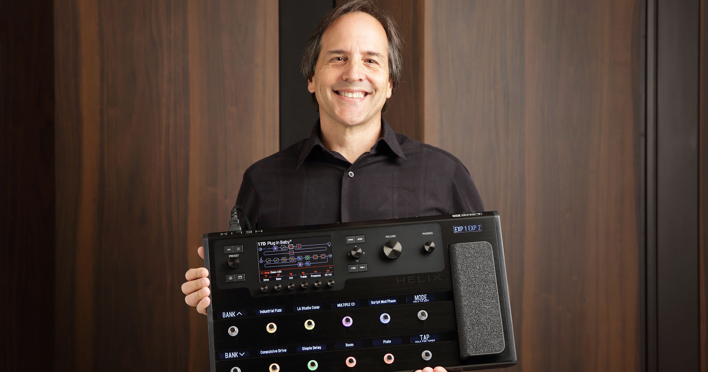 Line 6 Helix - Marcus Ryle Interview