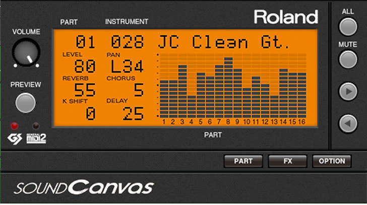 Roland - SOUND Canvas VA