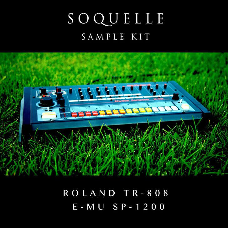 Roland TR-808 E-mu SP-1200 Soquelle Sample Kit