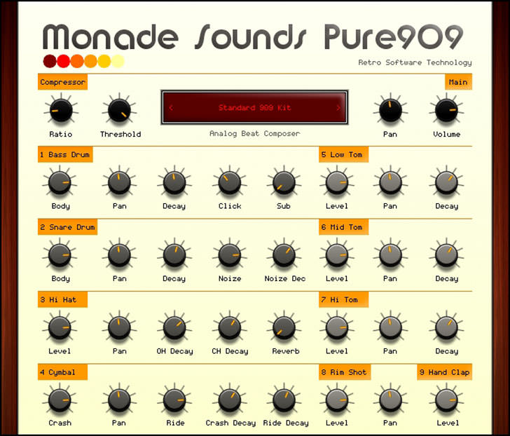 Monade Sounds - Pure909