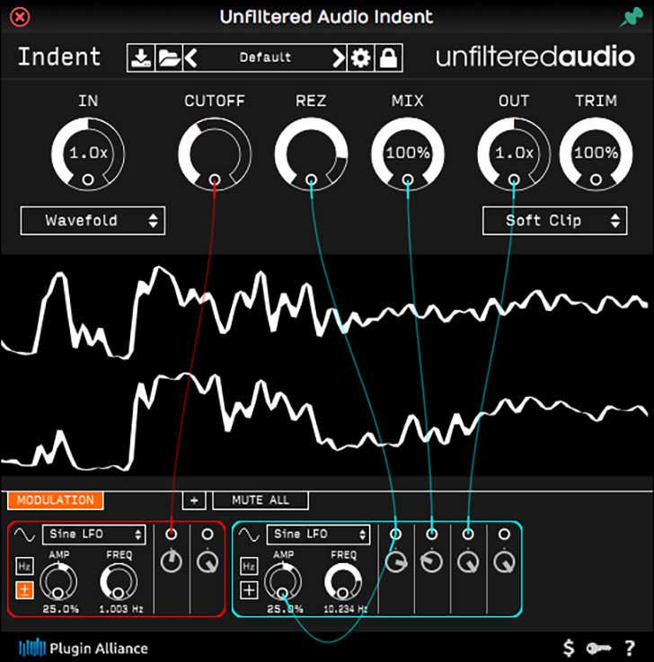 Plugin Alliance - Unfiltered Audio Indent