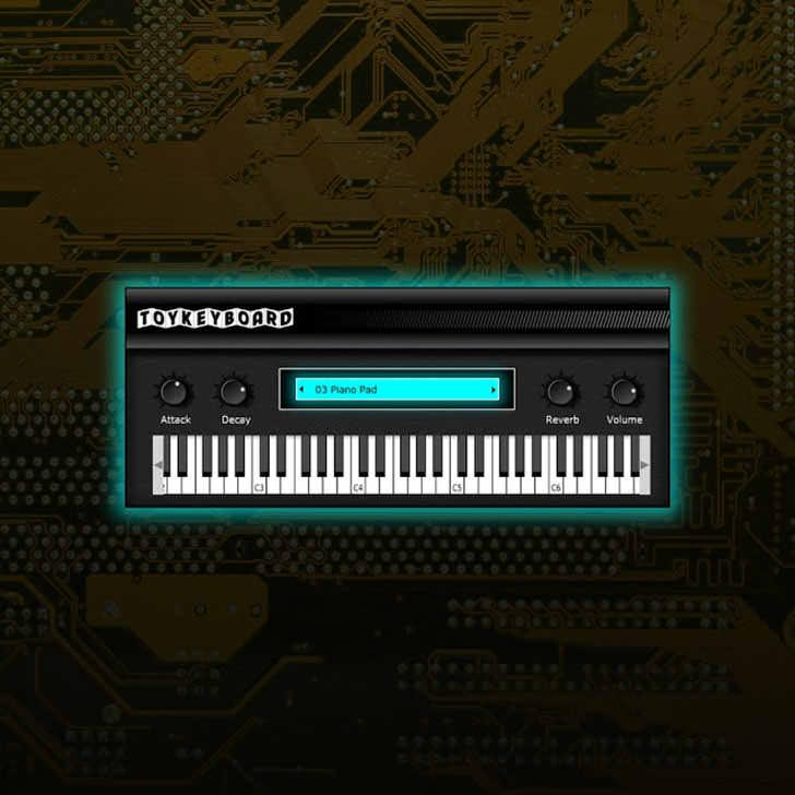 SampleScience - Toy Keyboard