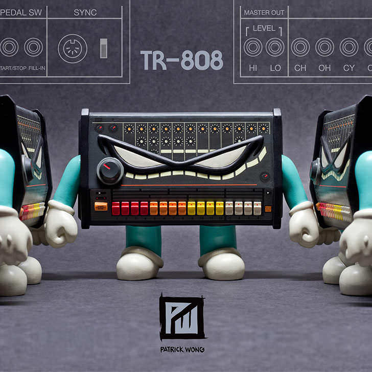 Patrick Wong - TR-808 Collectible Art Figure
