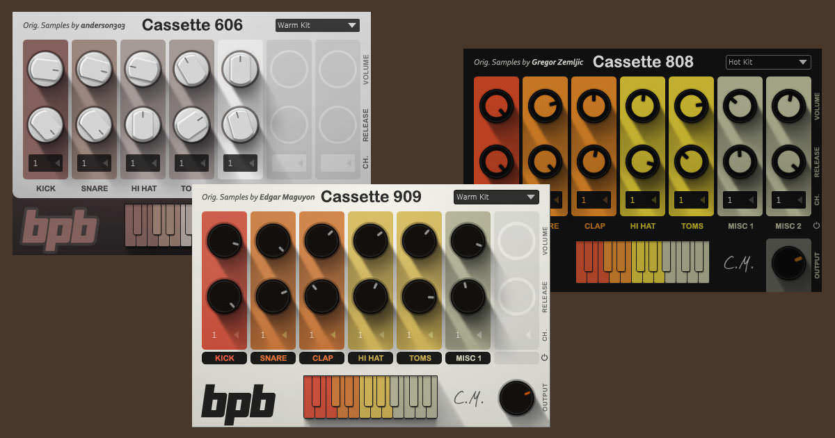 Bedroom Producers Blog - BPB Cassette Drums