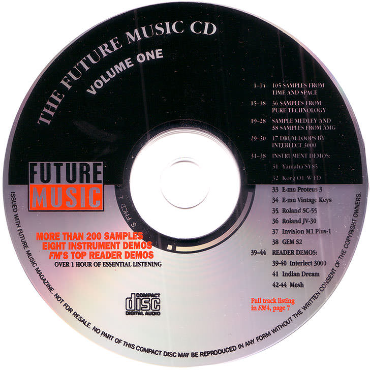 The Future Music CD Volume One