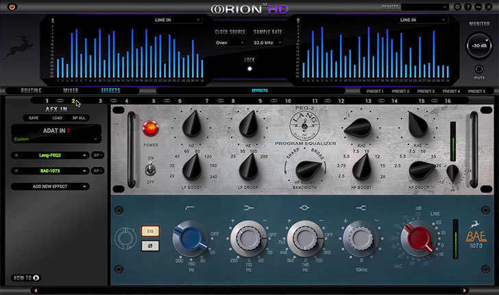 Antelope Audio - Orion32 HD