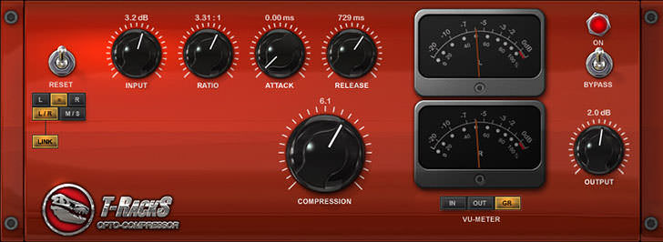 IK Multimedia - T-RackS Opto Compressor