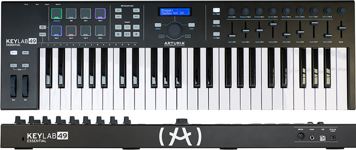 Arturia - KeyLab Essential Black Edition
