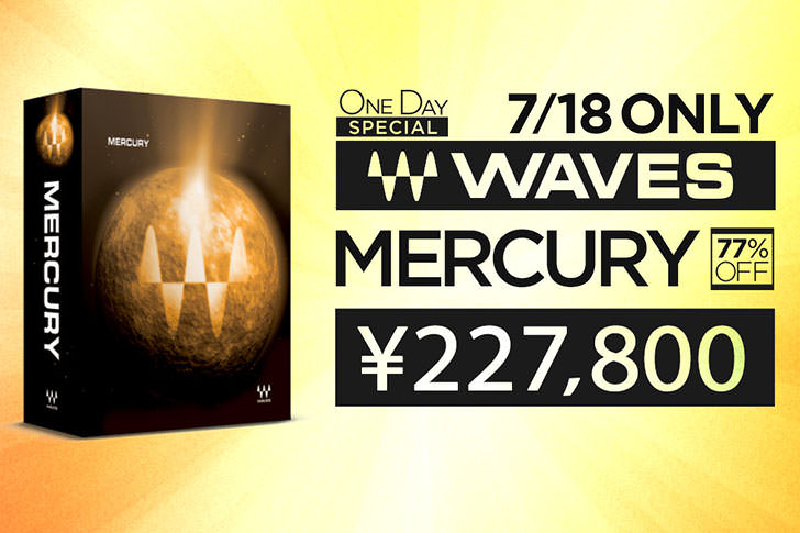 Waves Mercury Promotion
