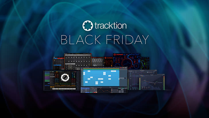 Tracktion - Black Friday Promotion