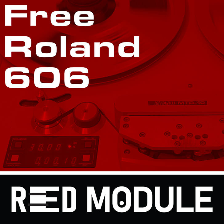 Red Module - Free Roland TR-606 Analog Tape Drum Samples