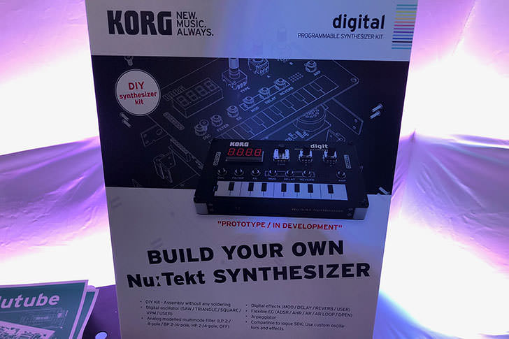 KORG - Nu:Tekt NTS-1 Digital Kit