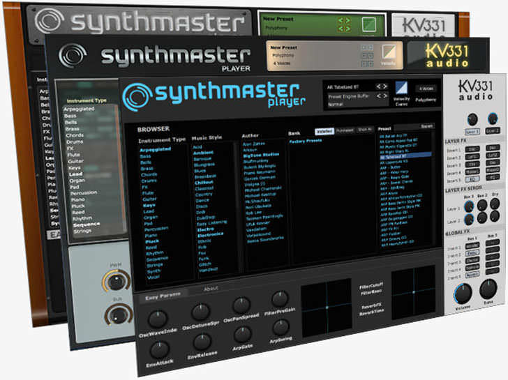 KV331 Audio - SynthMaster Player