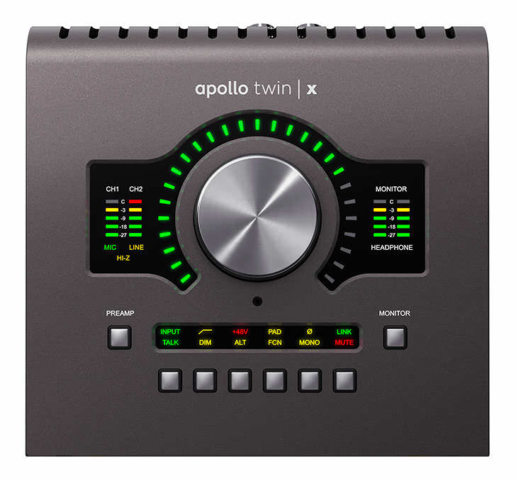 Universal Audio - Apollo x4 / Apollo Twin X