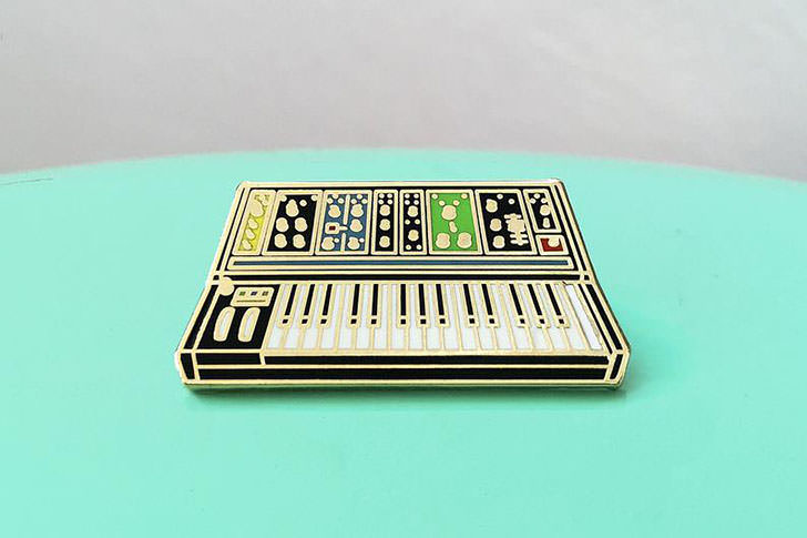 Charming Afternoon - Electronic Musical Instrument Pin Badge