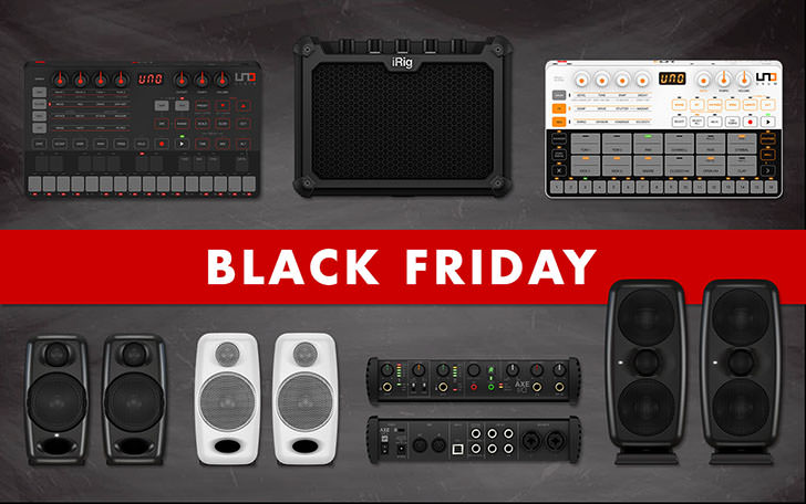 IK Multimedia - Black Friday 2019 Hardware
