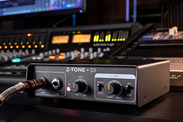 IK Multimedia - Z-TONE Buffer Boost / Z-TONE DI