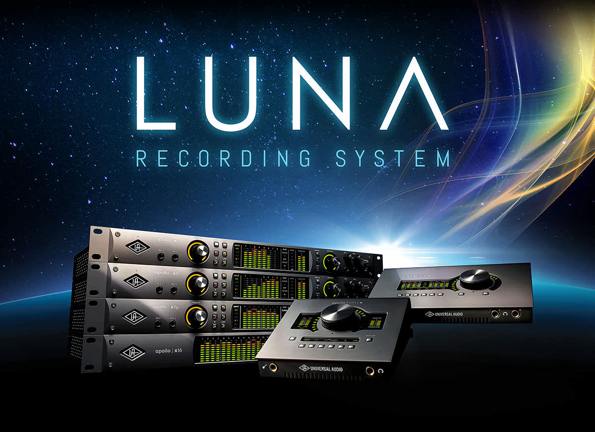Image result for universal audio luna recording system