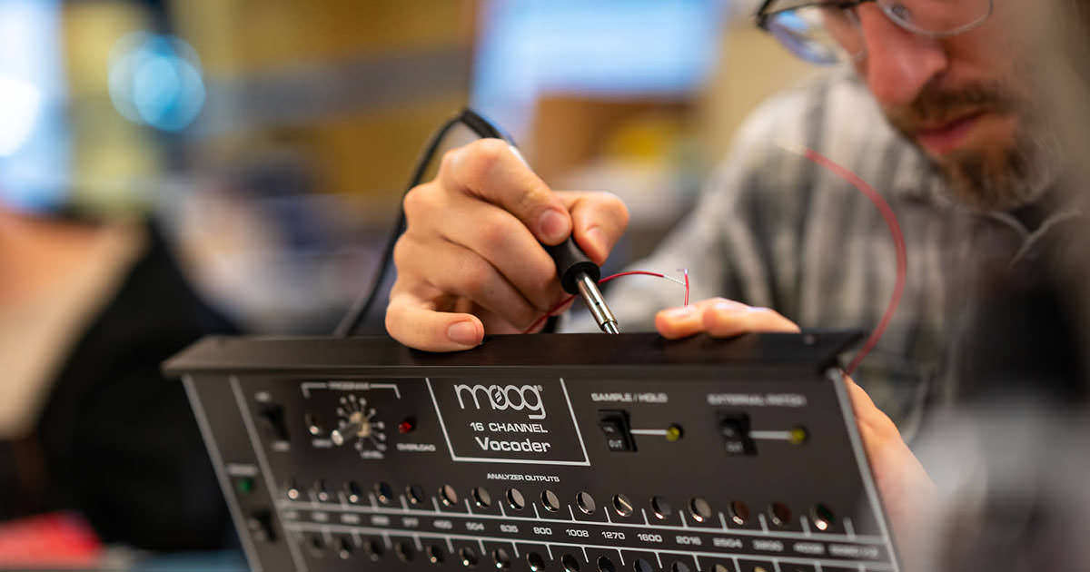 Moog Music - Moog 16 Channel Vocoder