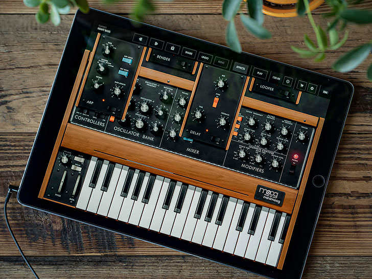 Moog Music - Minimoog Model D Synthesizer App Free